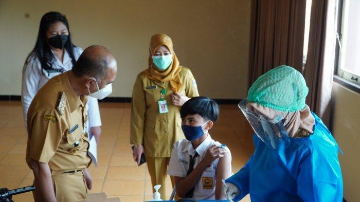 25 Persen Siswa SMP di Jepara Sudah Ikuti Vaksinasi di Sekolah