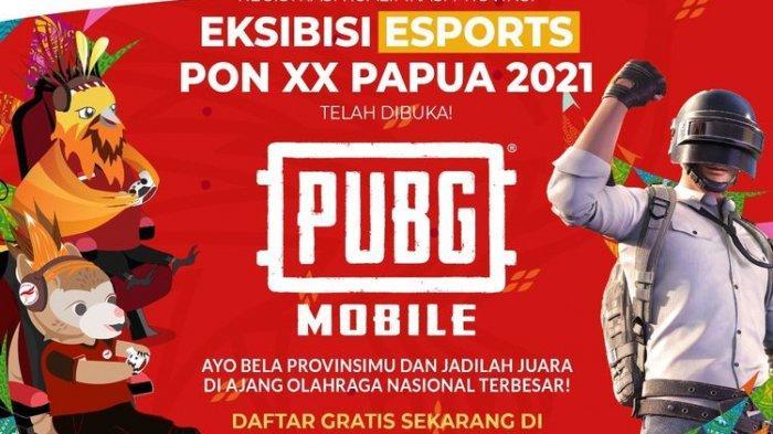 PUBG Mobile Masuk Cabang Eksibisi PON XX Papua 2021, Pendaftaran Telah Dibuka, Ini Syaratnya