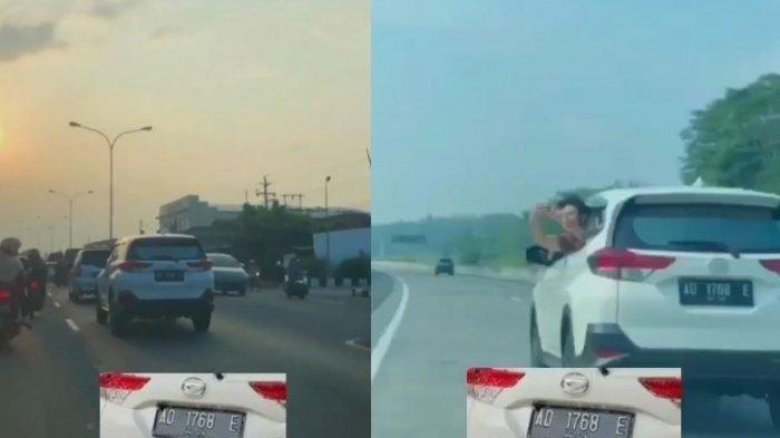 Viral Pengendara Mobil Terios Ugal-ugalan di Jalan Tol, Polisi: Kalau Lihat Pelatnya, Sragen
