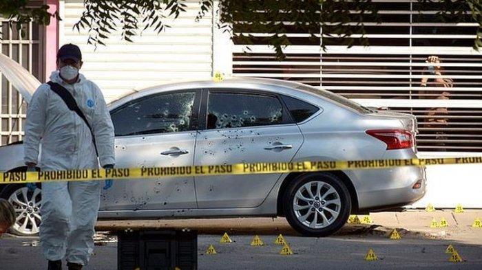 Kartel Narkoba di Meksiko Eksekusi Kepala Polisi dengan 100 Tembakan