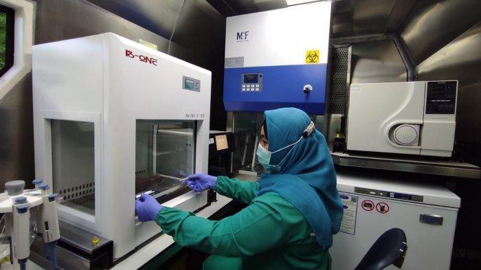 Mobil laboratorium bergerak surveilans dari Kementerian Kesehatan RI