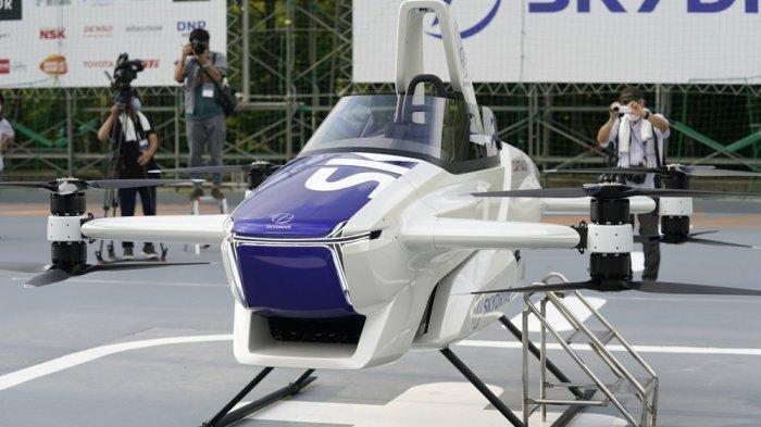 Jepang Berhasil Ujicoba Mobil Terbang,Bisa Melayang hingga 10 Menit
