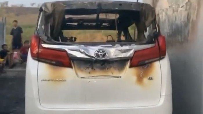 Pelaku Pembakaran Mobil Alphard Via Vallen Diduga Pura-pura Gila Pas Diperiksa Polisi