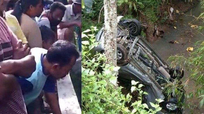 Kecelakaan Mobil Avanza Masuk Sungai di Sragen: Sopir Panik Injak Gas Terlalu Dalam