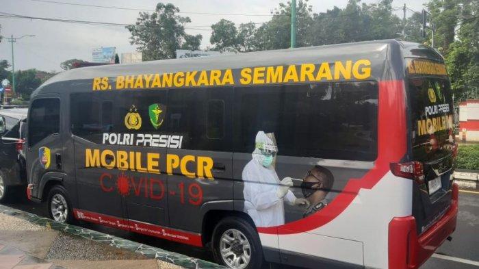 Bantu Penanganan Covid-19 di Jepara, Polda Jateng Kirim Mobile PCR