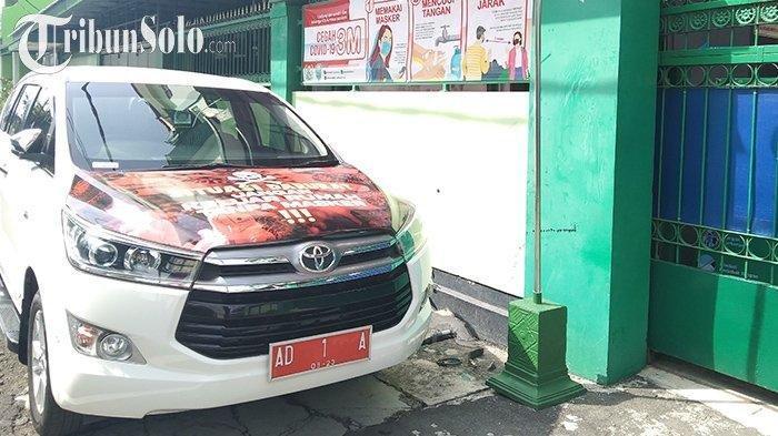 Alasan Gibran Walikota Solo Parkirkan Mobil Dinasnya di SMK Batik 2 Surakarta