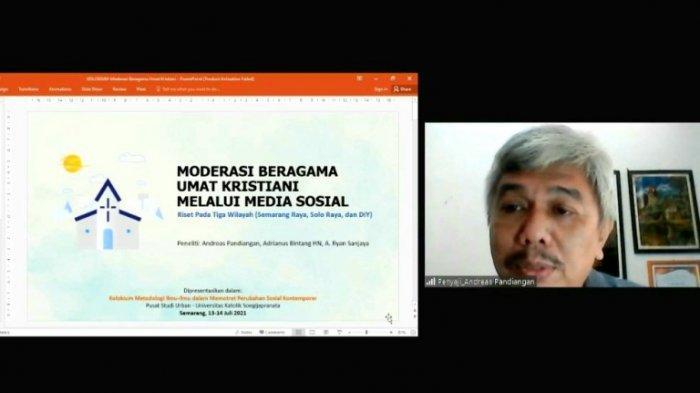 Dinamika Moderasi Beragama di Media Sosial Semarang, Solo, dan Jogja, Ini Kata Peneliti dari Unika