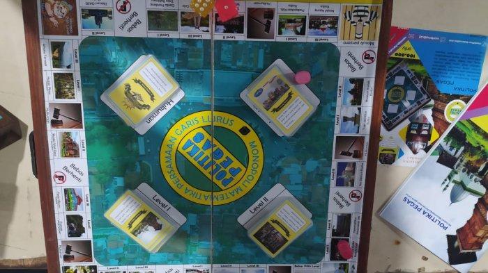Belajar Lebih Menyenangkan, Empat Mahasiswa Universitas Muria Kudus Ciptakan Monopoli Matematika