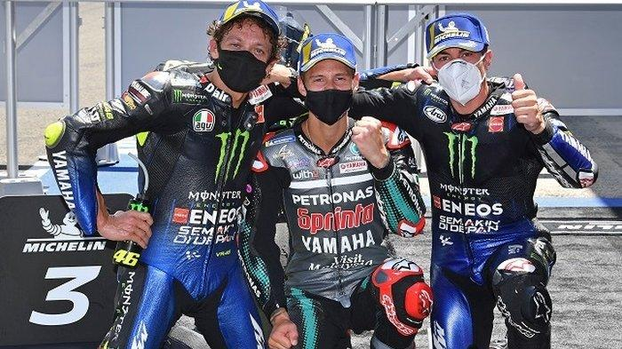 Klasemen MotoGP 2021, Duo Yamaha Kejar Pramac Racing, Valentino Rossi di Posisi Berapa?