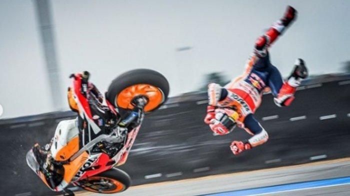 Sedang Berlangsung Ini Link Live Streaming MotoGP 2021 Catalunya di Trans 7, Marquez Langsung Crash