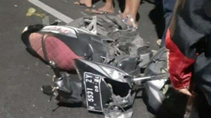 Kecelakaan Maut di Siliwangi Semarang, Seorang Pria  yang Disebut Kyai Meninggal Tabrak Truk Parkir