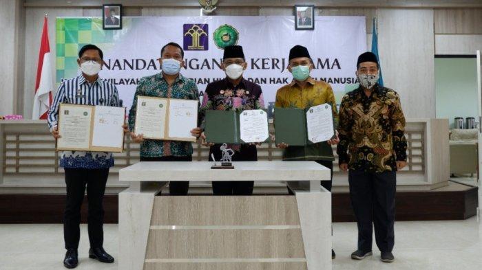 Fakultas Hukum Unwahas Teken Kerjasama dengan Kemenkum HAM Jawa Tengah