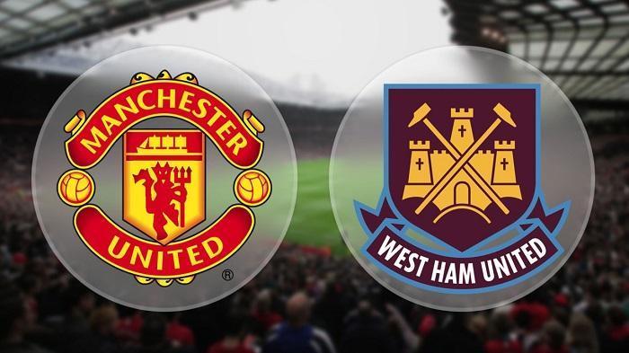 Hasil gambar untuk MU vs west ham logo