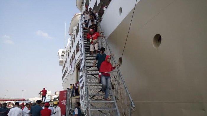Peminat Mudik Gratis Menggunakan Kapal Meningkat