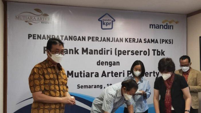 Perumahan Mutiara Arteri Regency Gandeng Bank Mandiri dan BTN