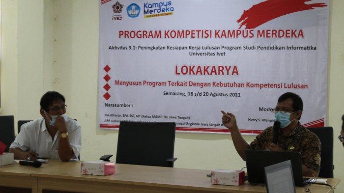 Prodi Pendidikan Informatika Unisvet Semarang Gelar Lokakarya Siapkan Lulusan Siap Kerja