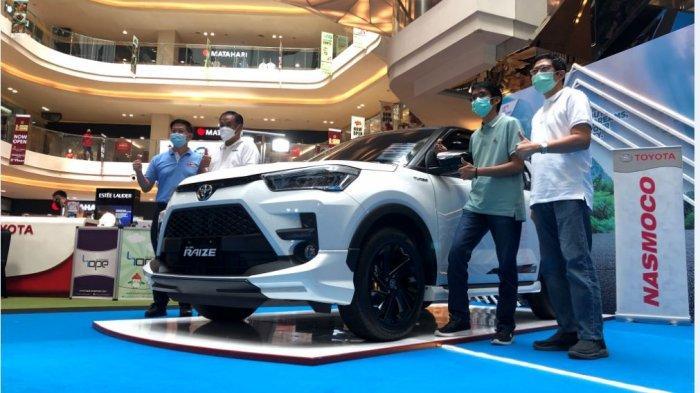 Nasmoco Grup Gelar Pameran di Mal Paragon Semarang, Toyota Raize Jadi Pusat Perhatian