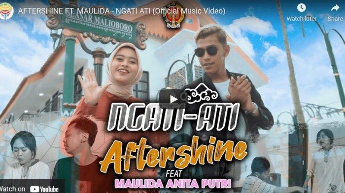 Chord Kunci Gitar Ngati Ati Aftershine feat Maulida
