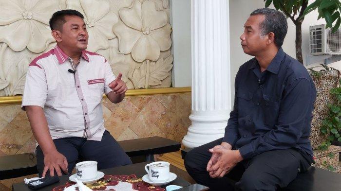 Ngopi Surup Bersama Ketua DPRD Kota Tegal  Kusnendro, Ingin Wisata Pesisir Terkelola dengan Baik