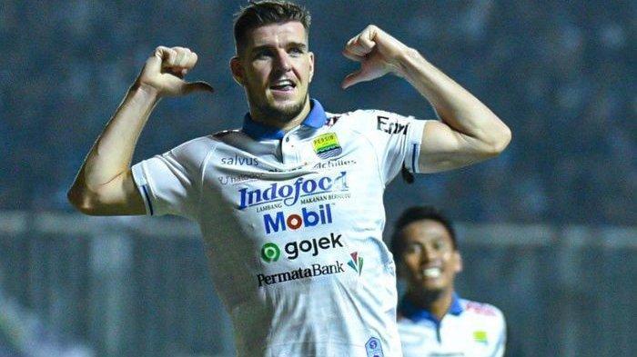Nick Kuipers Bertekad Bawa Persib Bandung Menang Lawan Bhayangkara FC Tanpa Kebobolan