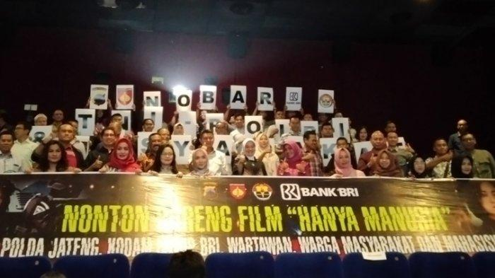 Kapolda Geregetan Nonton Film 'Hanya Manusia'