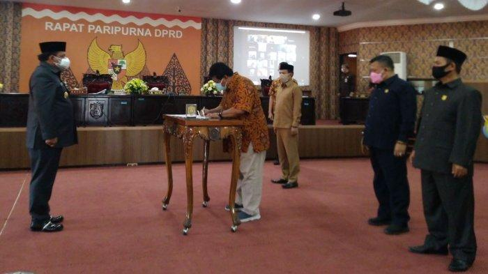 DPRD Kendal Setujui Raperda Pertanggungjawaban APBD 2020