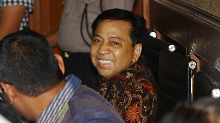 Setya Novanto Gunakan Ponsel di Lapas, ICW Desak Menkumham Pindahkan Setnov ke Nusakambangan