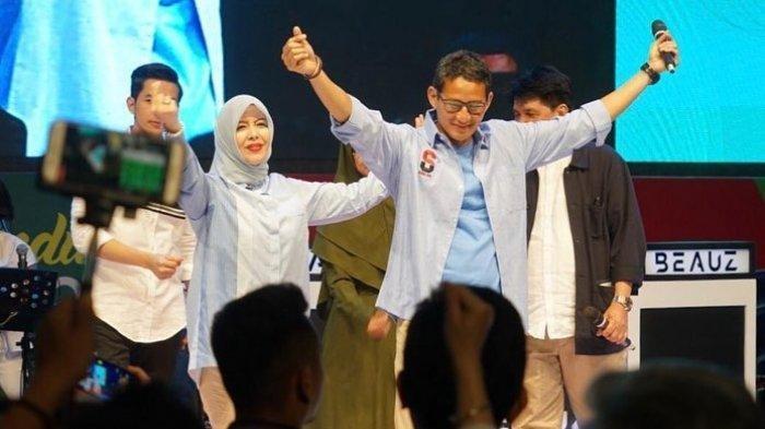 Mak Nur Asia Istri Sandiaga Uno Ditawari Maju Walikota, Ini Komentar Sandi