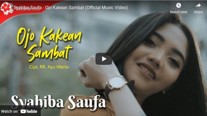 Chord Kunci Gitar dan Lirik Ojo Kakean Sambat Syahiba Saufa