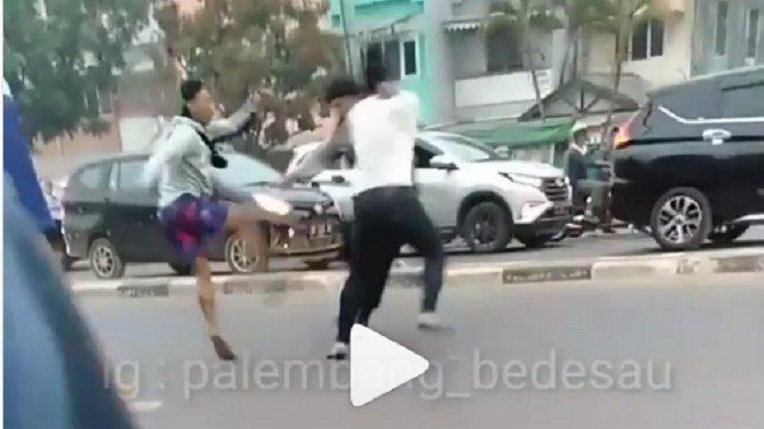 Viral Video Oknum Polisi Berkelahi dengan Oknum Anggota TNI, Begini Kronologinya