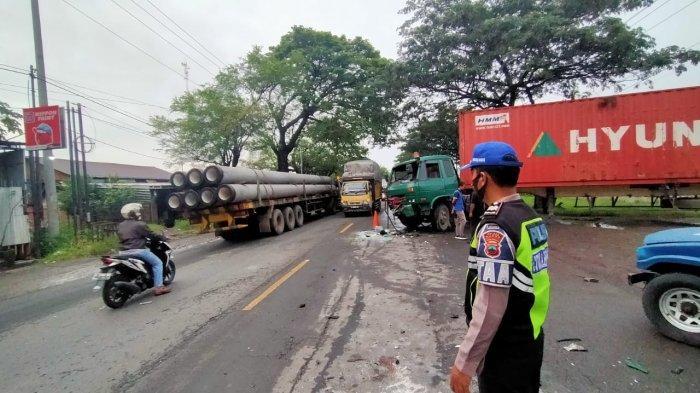 Muhammad Mustakim Meninggal Kecelakaan Maut Mobil Yaris Tabrak Truk di Kudus