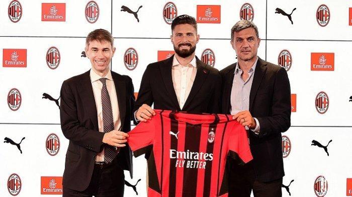 Apa Jadinya Giroud di AC Milan, Setajam Ibrahimovic Atau Melempem Seperti Mandzukic?