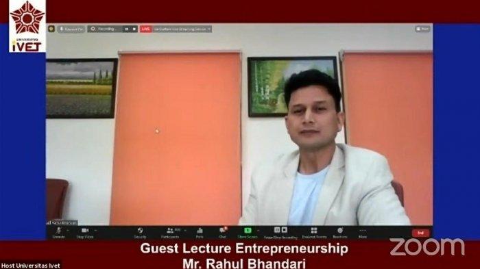 Universitas Ivet Semarang Hadirkan Dosen Tamu dari OP Jindal Global University India