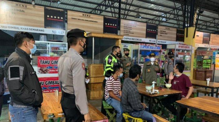 PPKM Darurat Banjarnegara, Petugas Gabungan Gelar Operasi Malam Hari ke Warung dan Tempat Keramaian