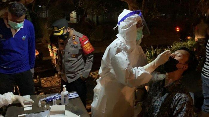 Operasi Yustisi di Kafe dan Angkringan, Polres Jepara Temukan Satu Orang Positif Antigen