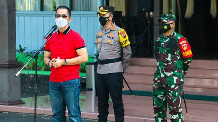 Apel Pengamanan Kupatan, Bupati Kudus HM Hartopo Minta Pengelola Obyek Wisata Patuhi Prokes