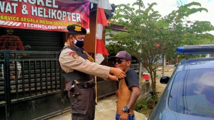 Jaga Kondusifitas Wilayah dari Tindak Kriminal, Samapta Banyumas Gelar Operasi Premanisme