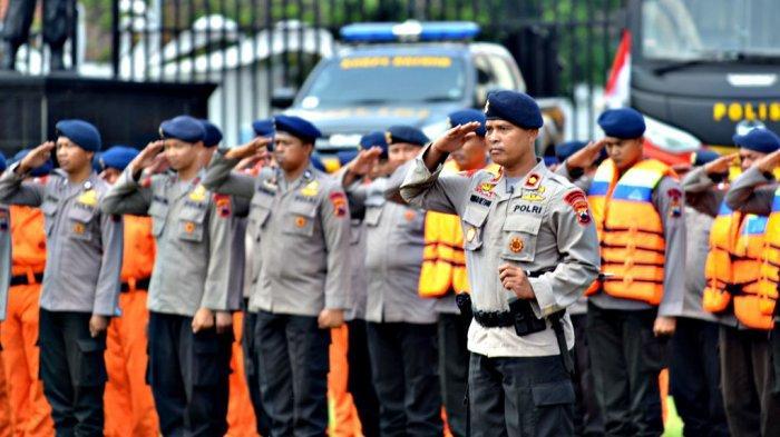 Satuan Brimob Polda Jawa Tengah Siagakan Satgas Operasi Pusat Aman Nusa II Antisipasi Bencana Alam