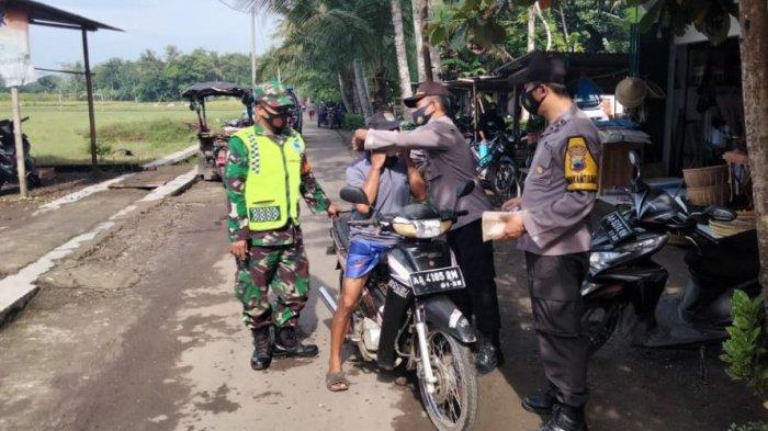 Warga Tak Pakai Masker Langsung Di-rapid Test dalam Operasi Yustisi di Kebumen