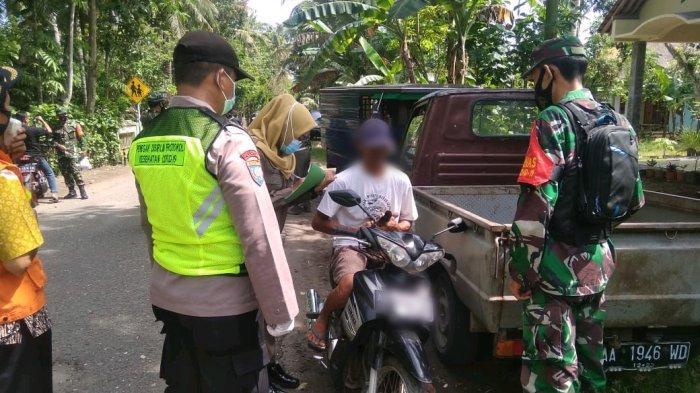 50an Pelanggar Protokol Kesehatan Terjaring Operasi Yustisi di Kebumen, Warga: Cuma Mau ke Situ