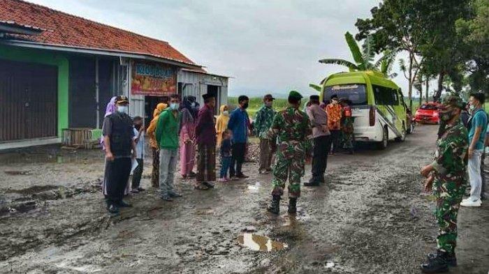 Operasi yustisi protokol kesehatan yang digelar di Kecamatan Bodeh Kabupaten Pemalang, beberapa waktu lalu.