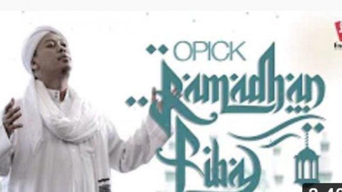 Not Angka Pianika Ramadhan Tiba Opick
