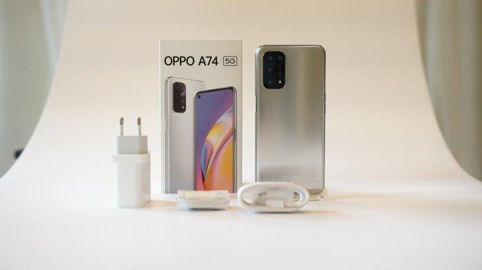 Dibekali Prosesor Qualcomm Snapdragon 480 5G, Ini Spesifikasi dan Harga Oppo A74 5G