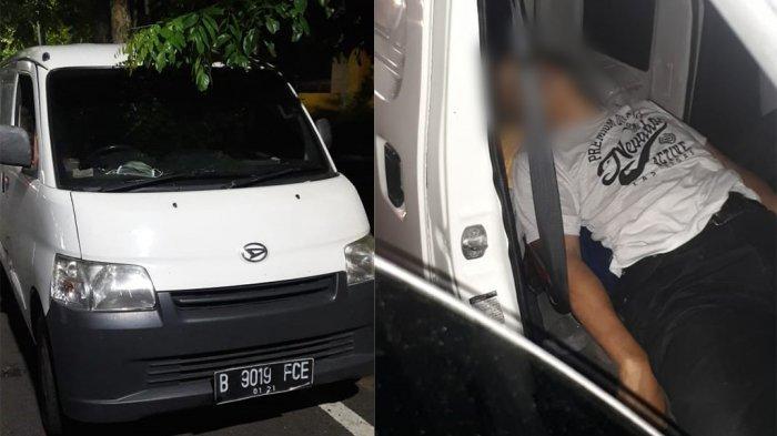 BREAKING NEWS: Pria Meninggal Dunia Dalam Mobil Daihatsu Putih Jalan Veteran Semarang