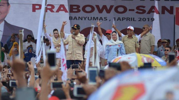 Prabowo Batal Hadiri Peringatan Isra Miraj di Aceh,BPN Minta Maaf