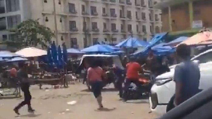Viral Video Diduga Anggota Ormas Pemuda Pancasila dengan AMPI Bentrok, Polisi Buru Pelaku Pemukulan