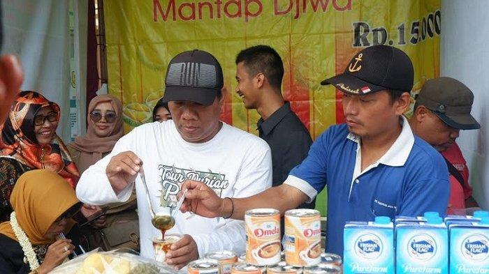 Anda Pencinta Buah Durian, Ayo Coba Es Duren Mantap Djiwa Asli Kalikangkung Pangkah Kabupaten Tegal