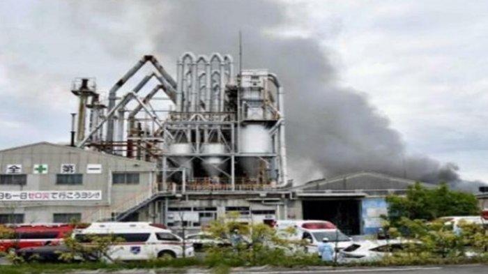 Pabrik Kimia Bahan Baku Cat di Jepang Meledak, 5 Karyawan Terluka