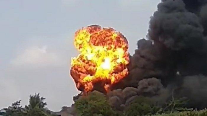 Pabrik PT Indofood Terbakar, Satu Gedung Produksi Kemasan Mi Instan Ludes