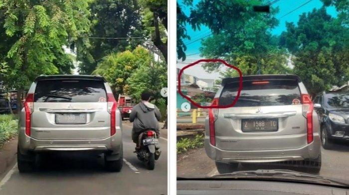 Penumpang Pajero Sport Buang Sampah Sembarangan, Videonya Viral Kini Dicari Polisi